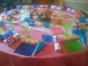 Children's Cupcake Decorating Party