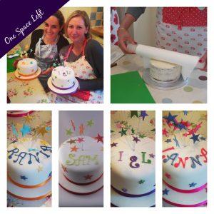 Celebration Cake Decorating Class London