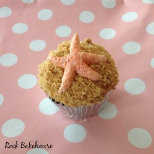 Starfish Shell Cupcake Topper Tutorial