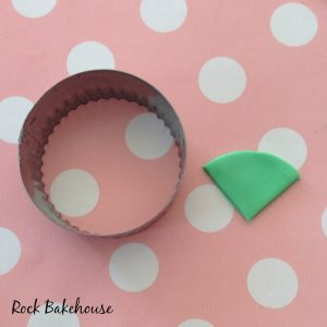 Watermelon Cupcake Topper Tutorial