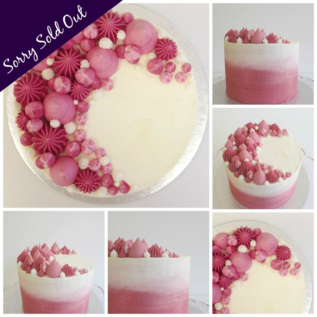 Sharp Edge Buttercream Cake Decorating Class London