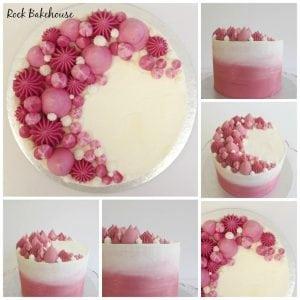 Sharp Edge Buttercream Cake Decorating Class London