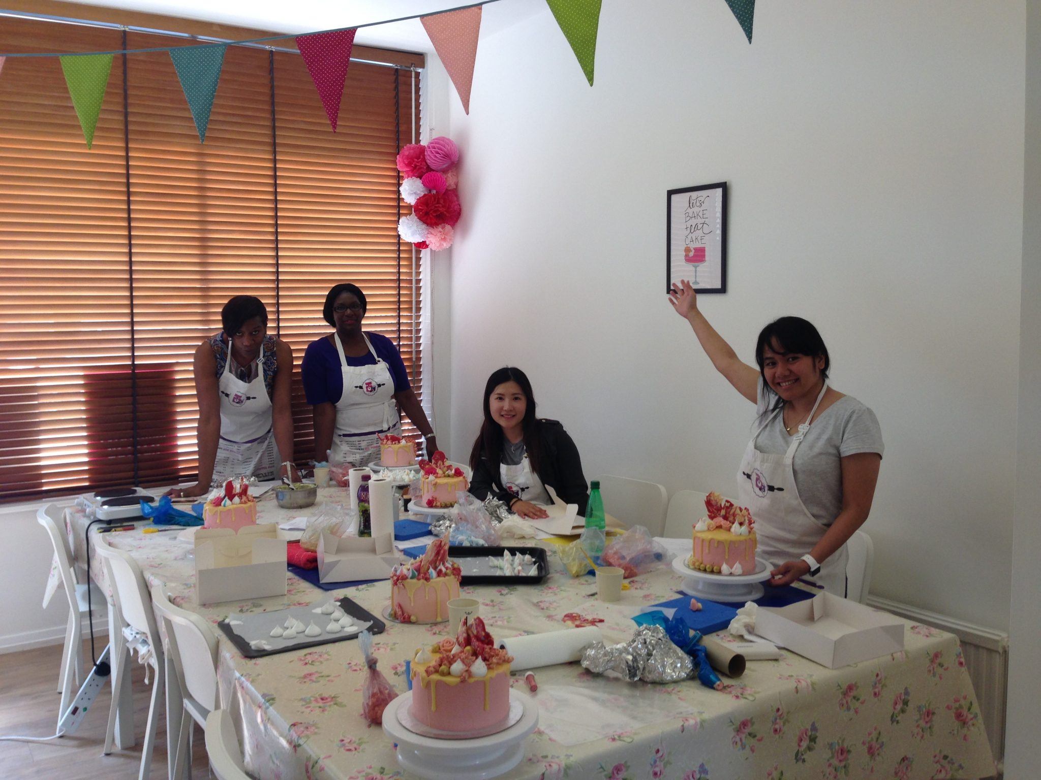 Cake Decorating Class London