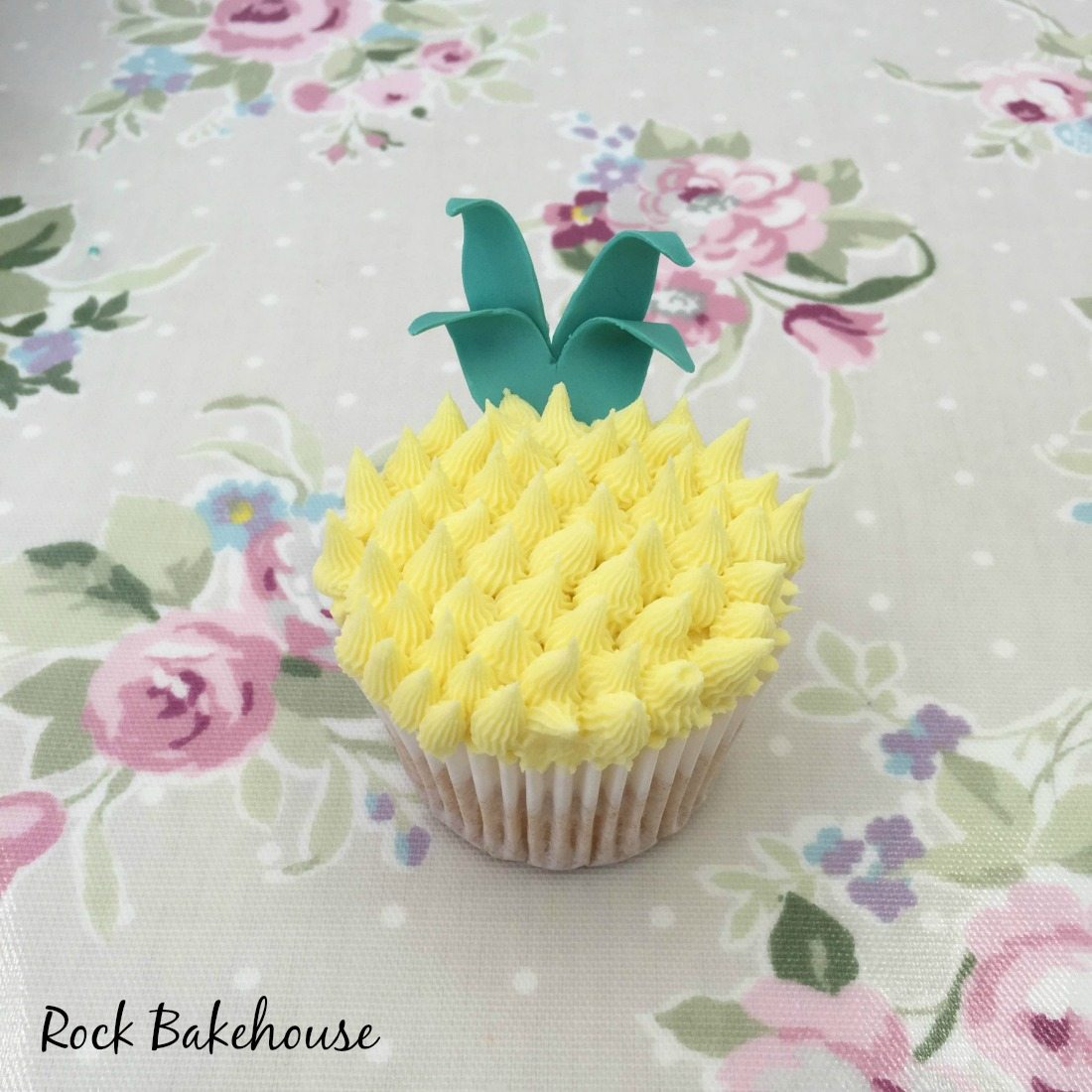 Pineapple Cupcake Tutorial