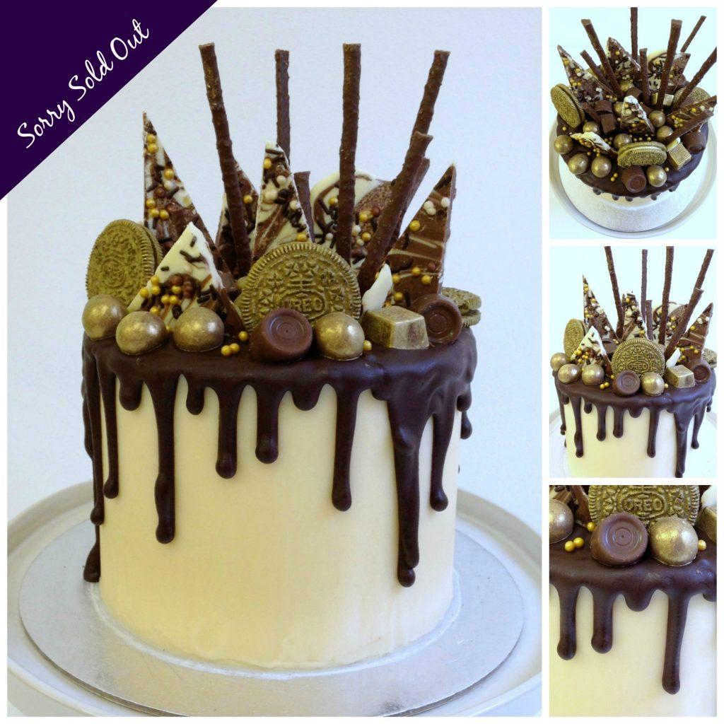 Chocolate Ganache Drip Cake Class London