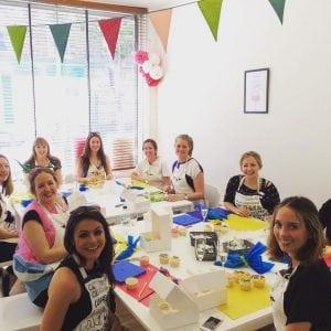 Hen Party Cupcake Decorating Class London