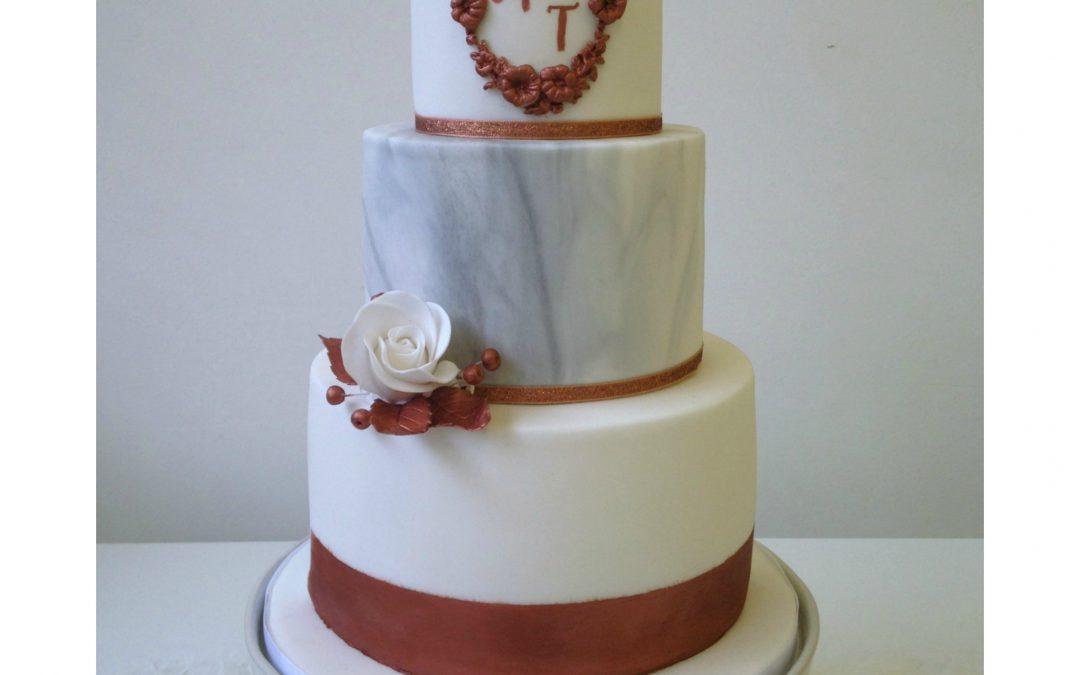 Three Tier Wedding Cake Decorating Class London