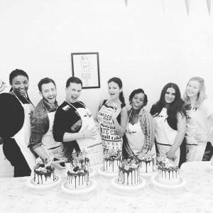 Ganache Drip Cake Decorating Class London