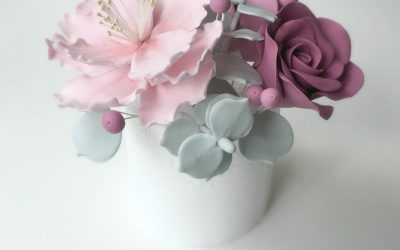 Sugar Flowers In A Day *NEW CLASS*