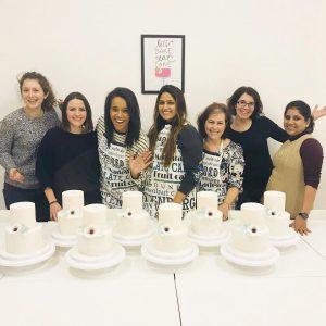 Two tier Sharp Edge Cake Class London