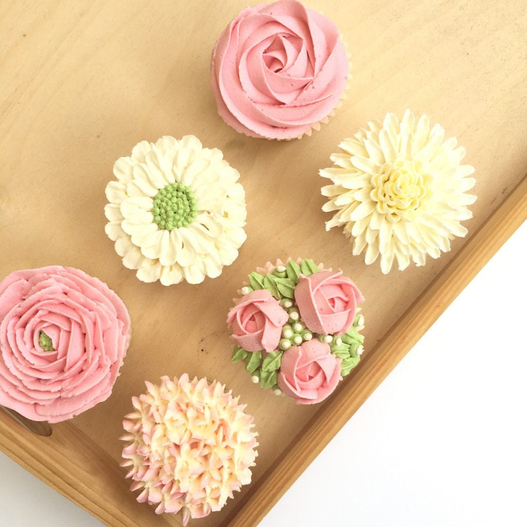 Buttercream Flowers Class London