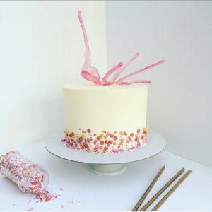 Isomalt Buttercream Cake Class