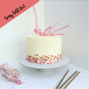 Isomalt Buttercream Cake Class London