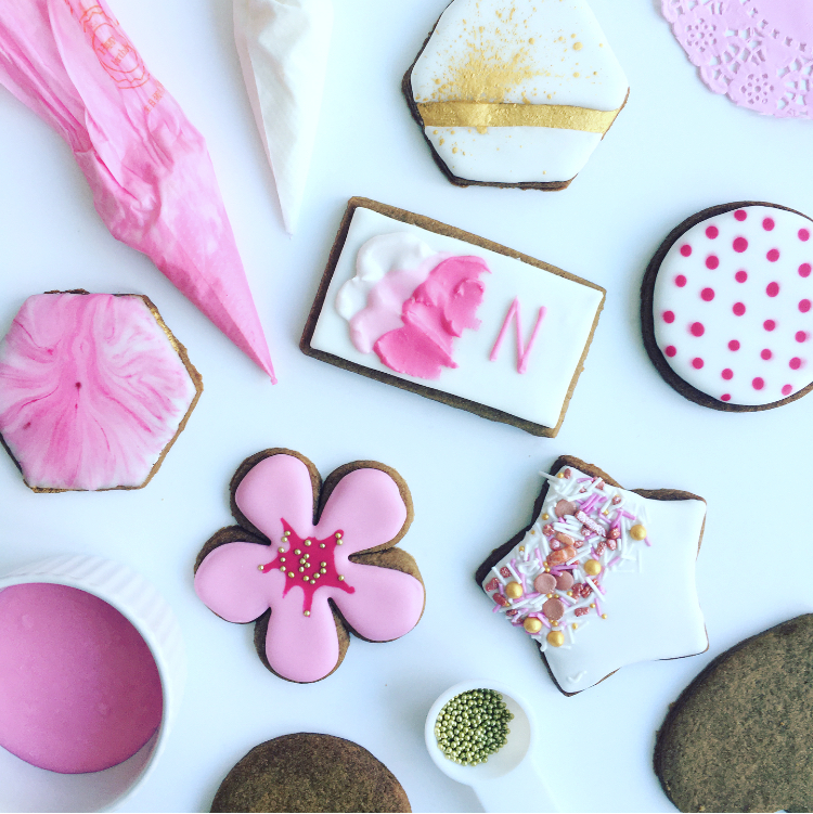 Royal Icing Cookie Class London