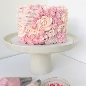 Piped Buttercream Cake Class London
