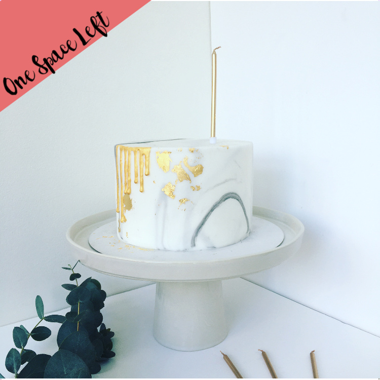 Ganache Sharp Edge Cake Decorating Class London