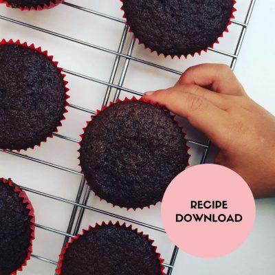 Egg Free & Vegan Chocolate Cupcake Recipe