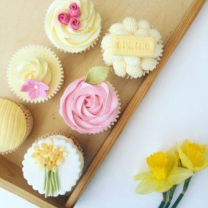 Spring Cupcake Decorating Class London