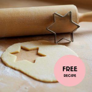 Vanilla Sugar Biscuits Recipe
