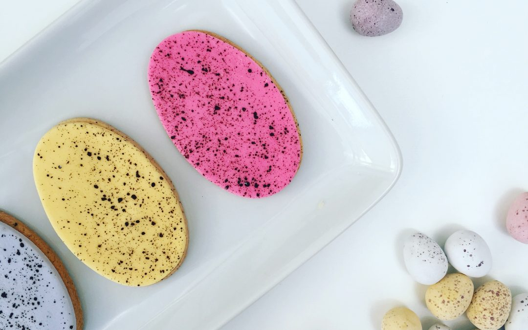 Speckled Egg Cookie Tutorial