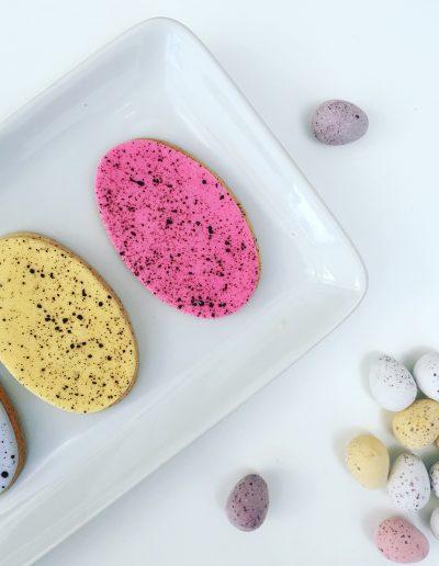 Speckled Egg Cookie Tutorial