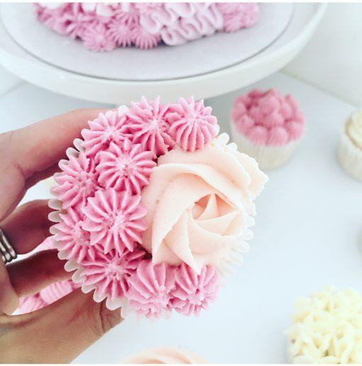 Cupcake Buttercream Piping Online Class